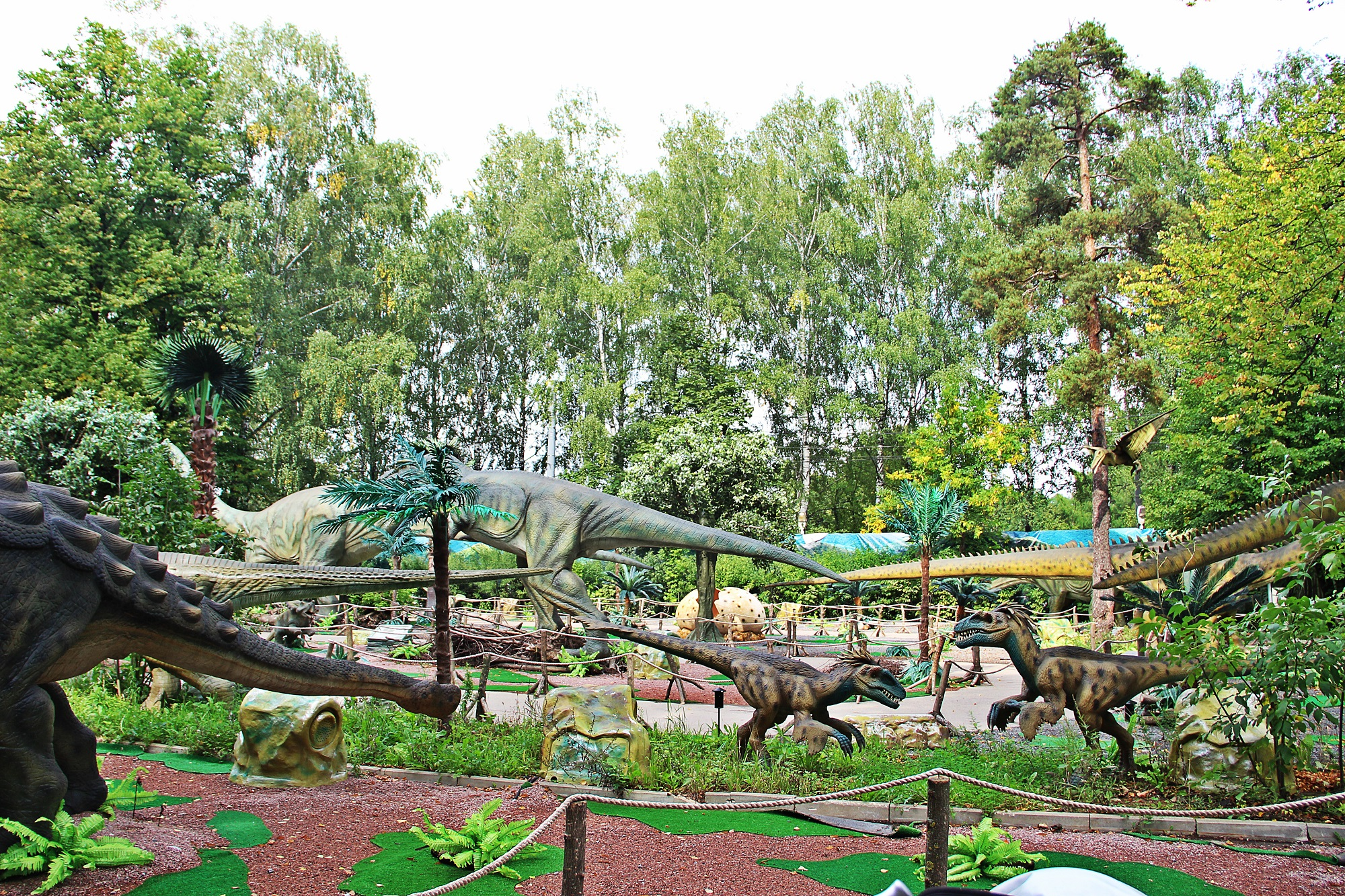 Выставка динозавров в Москве
