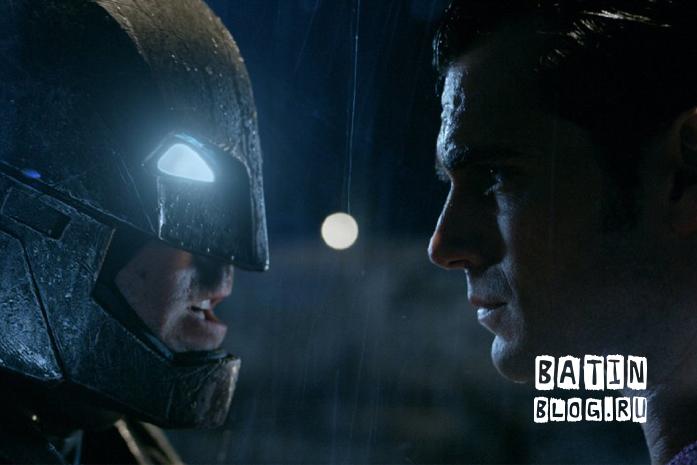 Плакат фильма Бэтмен против Супермена