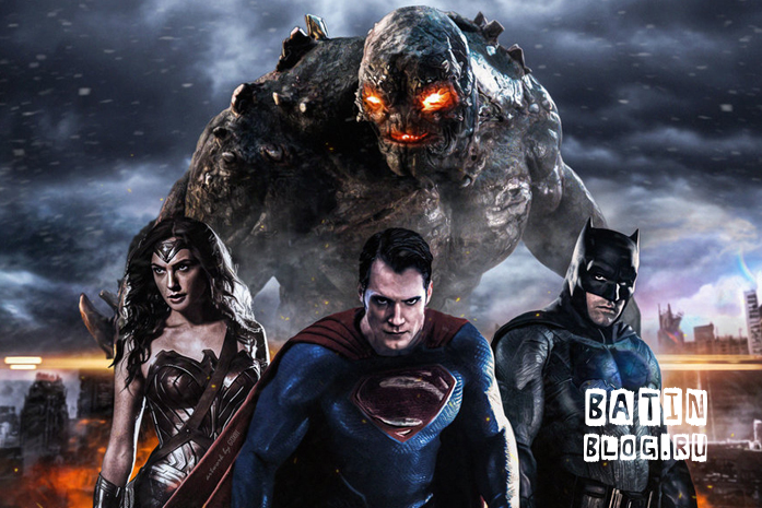 Постер к фильму Бэтмен против Супермена