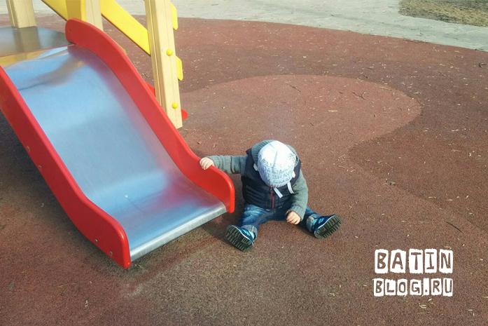 Детская площадка в Раменском парке