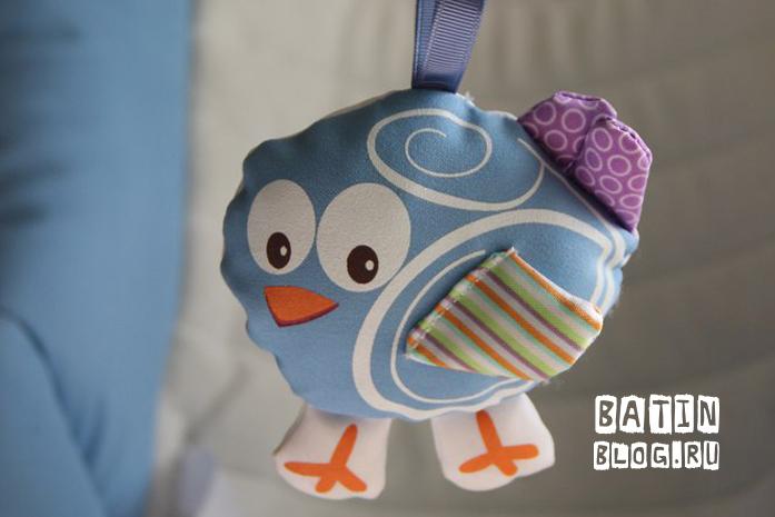 Игрушечная птичка - Батин Блог