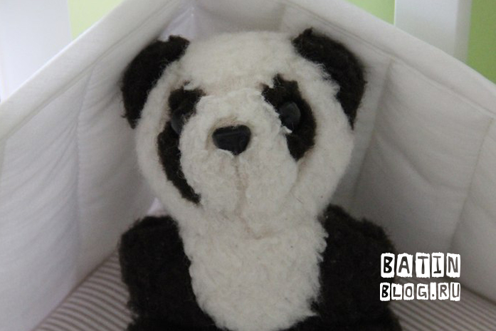Игрушечная панда - Батин Блог
