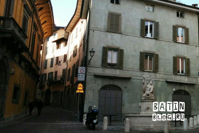 Улочки Бергамо
