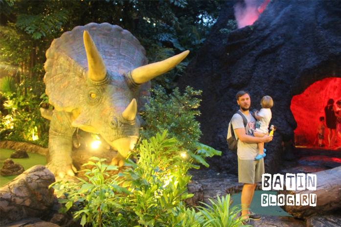 Парк с динозаврами на Пхукете - Батин Блог