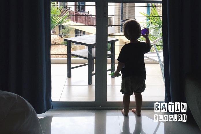 Вид из окна гостиницы - Батин Блог