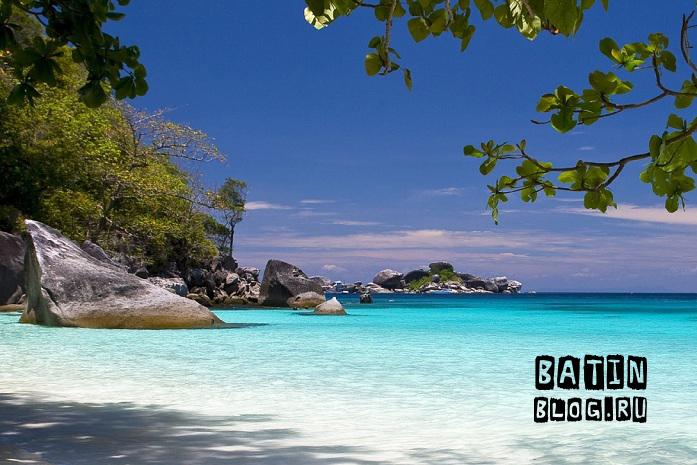 Симиланские острова - Батин Блог