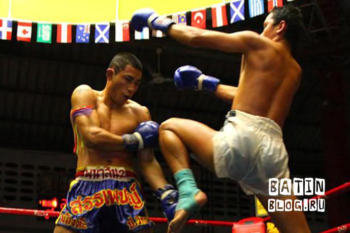 Тайский бокс на Пхукете - Батин Блог