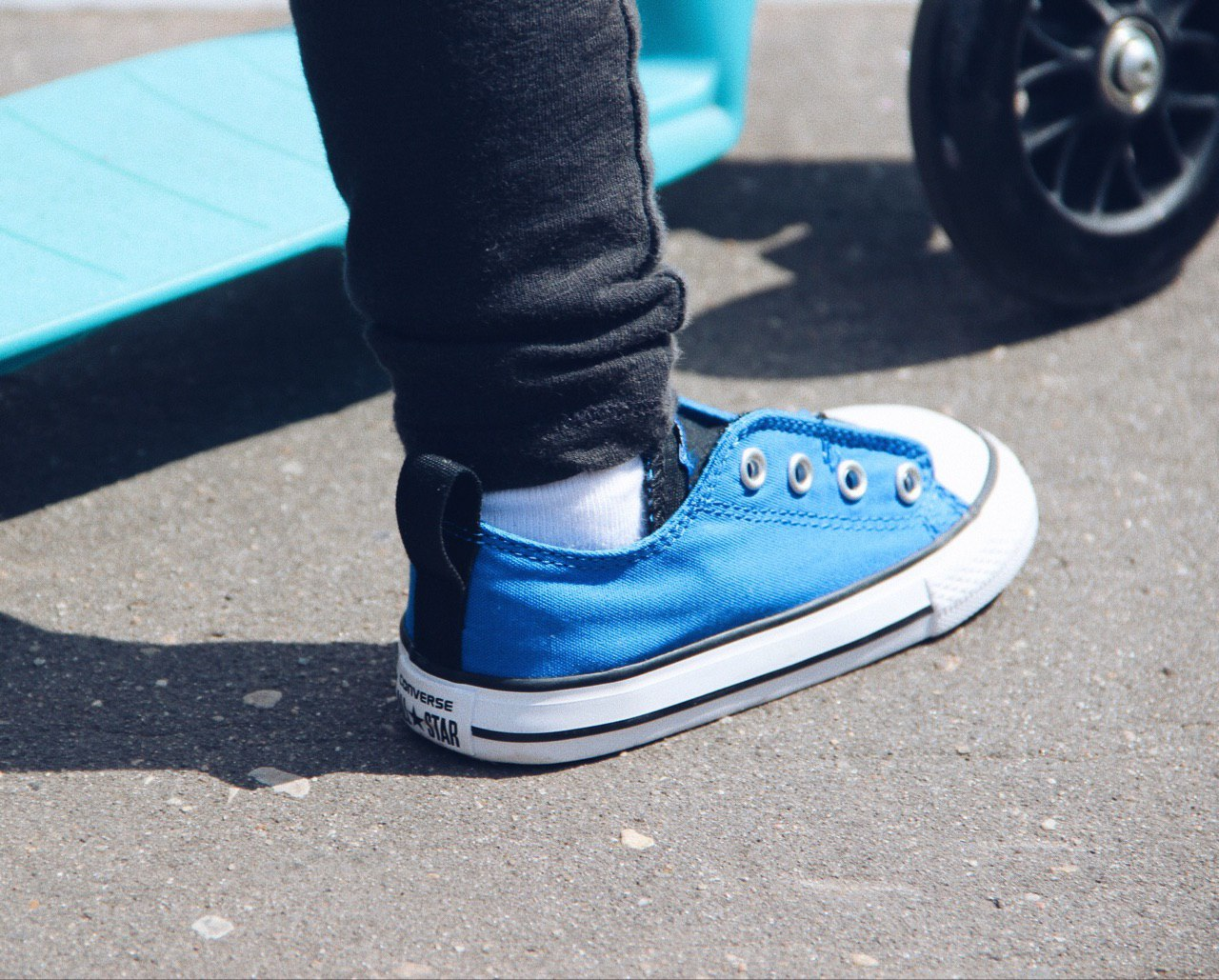 Кеды для малышей Converse Chuck Taylor All Star Simple Slip Low Top - Батин Блог