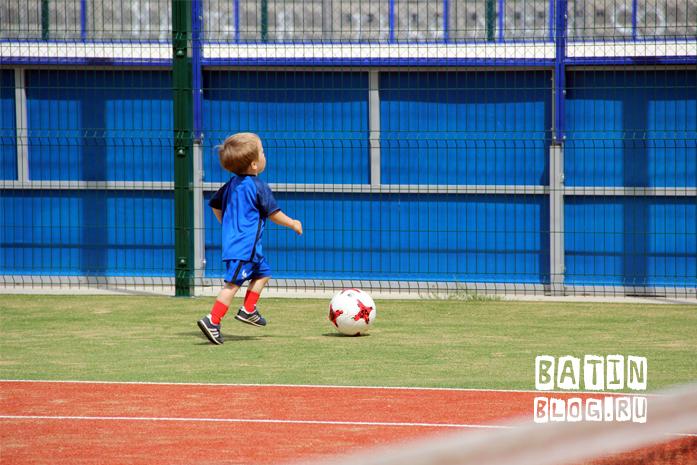 Футбольный мяч Krasava - Батин Блог