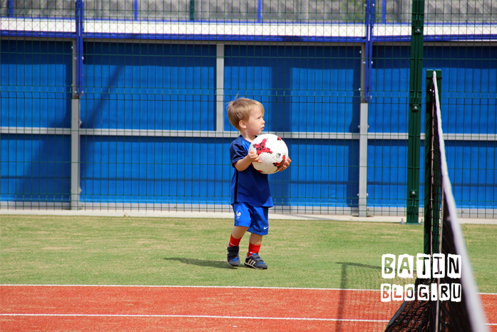 Футбольный мяч Красава - Батин Блог