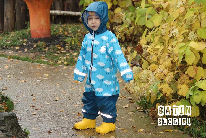 Детский дождевик Lindberg Lersten Rain Coverall - Батин Блог