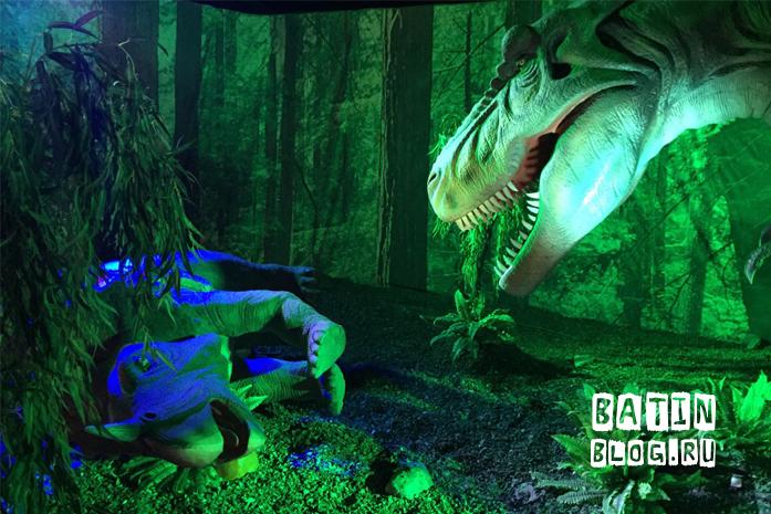 Парк динозавров в Детском мире - Батин Блог