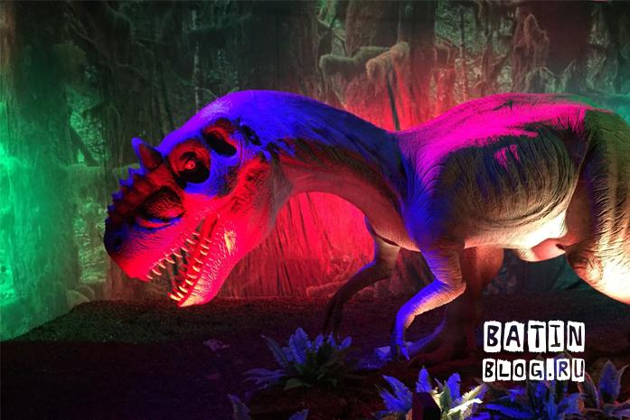 Парк динозавров в Центральном Детском мире - Батин Блог
