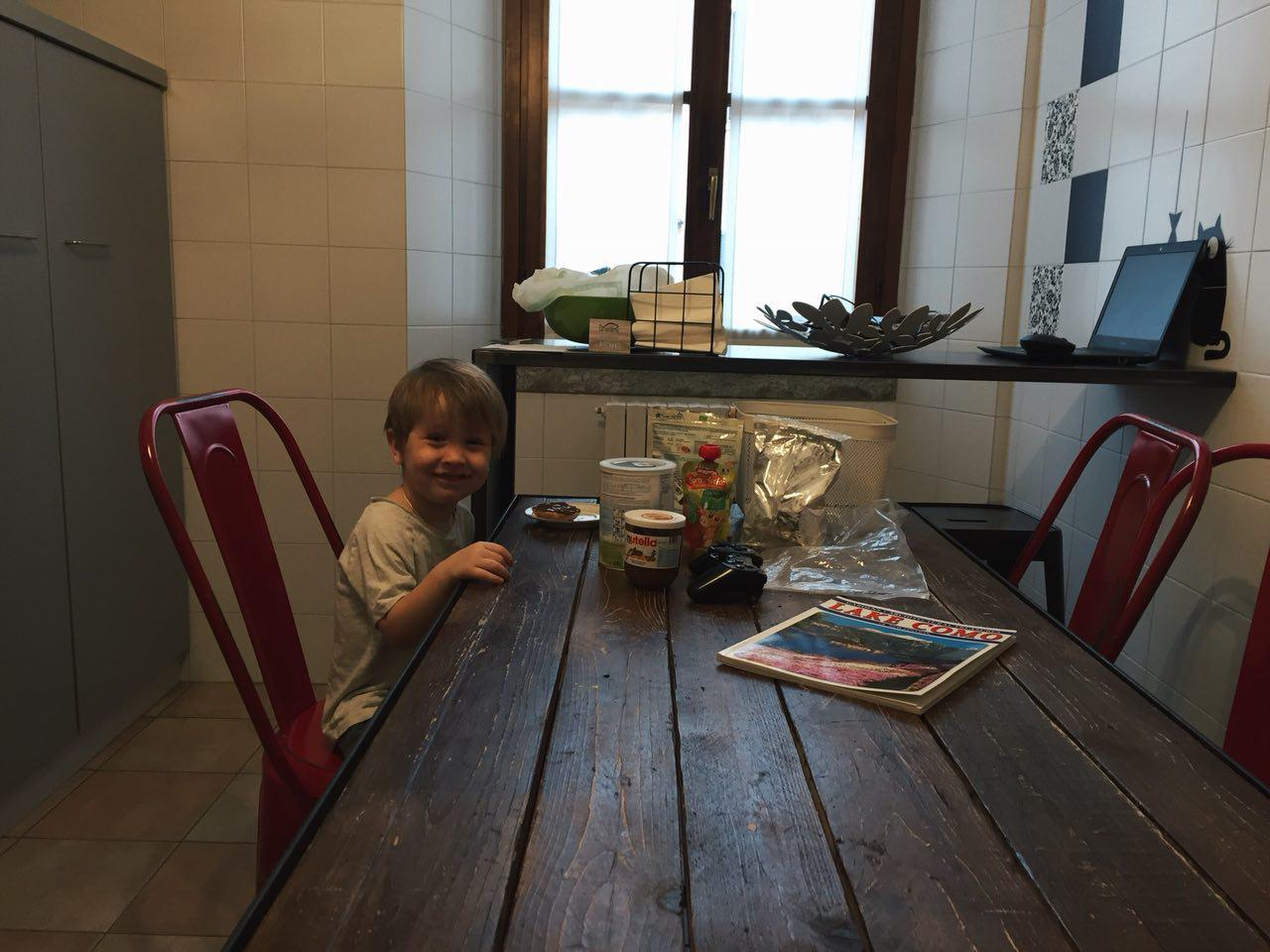 Обед в Комо - Батин Блог