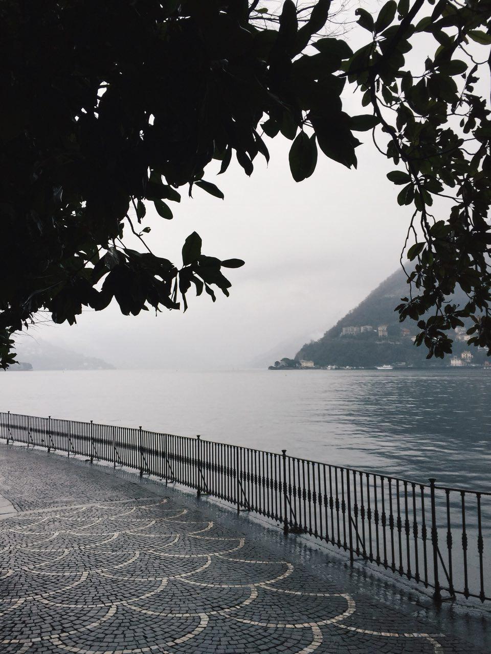 Дождь в Комо - Батин Блог