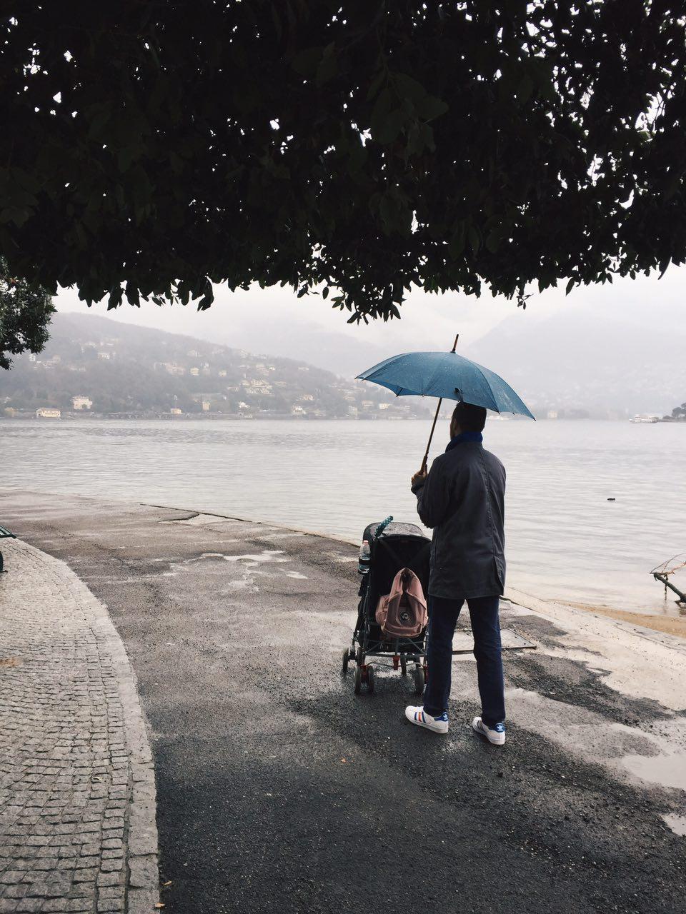 Непогода в Комо - Батин Блог