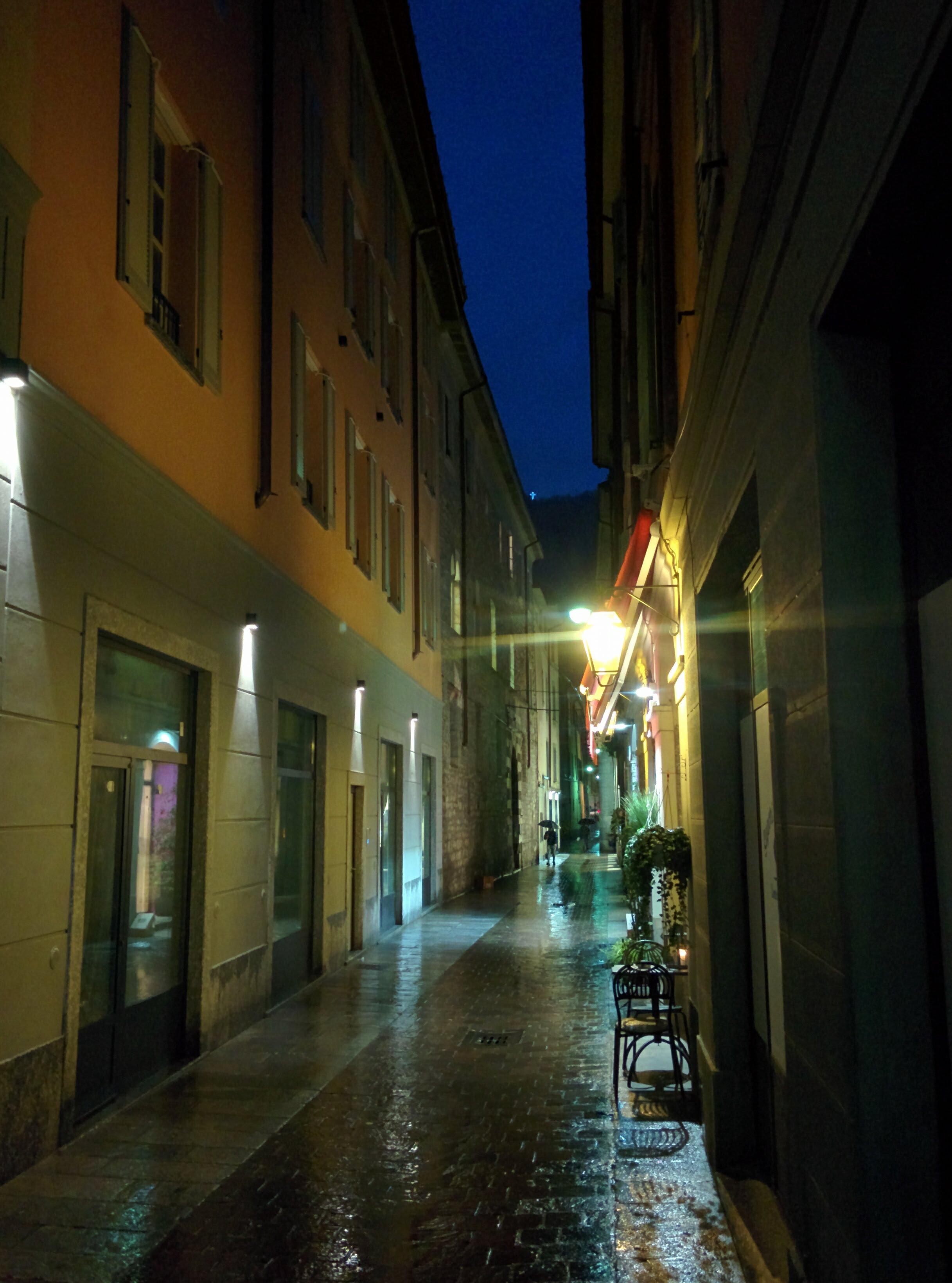 Улица города Комо - Батин Блог