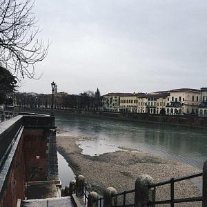 Река Адидже в Вероне - Батин Блог
