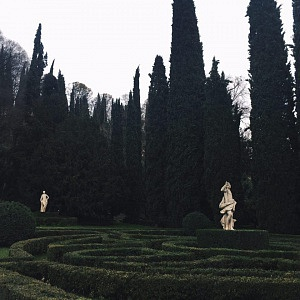 Сад Джусти в Вероне - Батин Блог