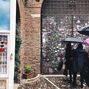 Балкон Джульетты в Вероне - Батин Блог