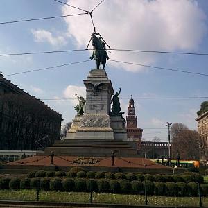 Памятник Милан 2018 - Батин Блог