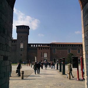 Замок Сфорца Милан 2018 - Батин Блог