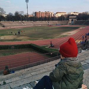 Стадион в Семпионе Милан 2018 - Батин Блог