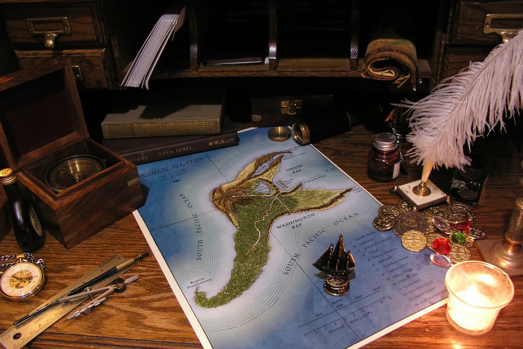 Обложка Таинственный остров Жюля Верна - Батин Блог