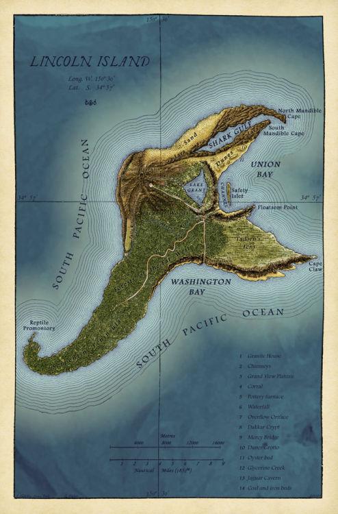 Роман Таинственный остров Жюля Верна - Батин Блог