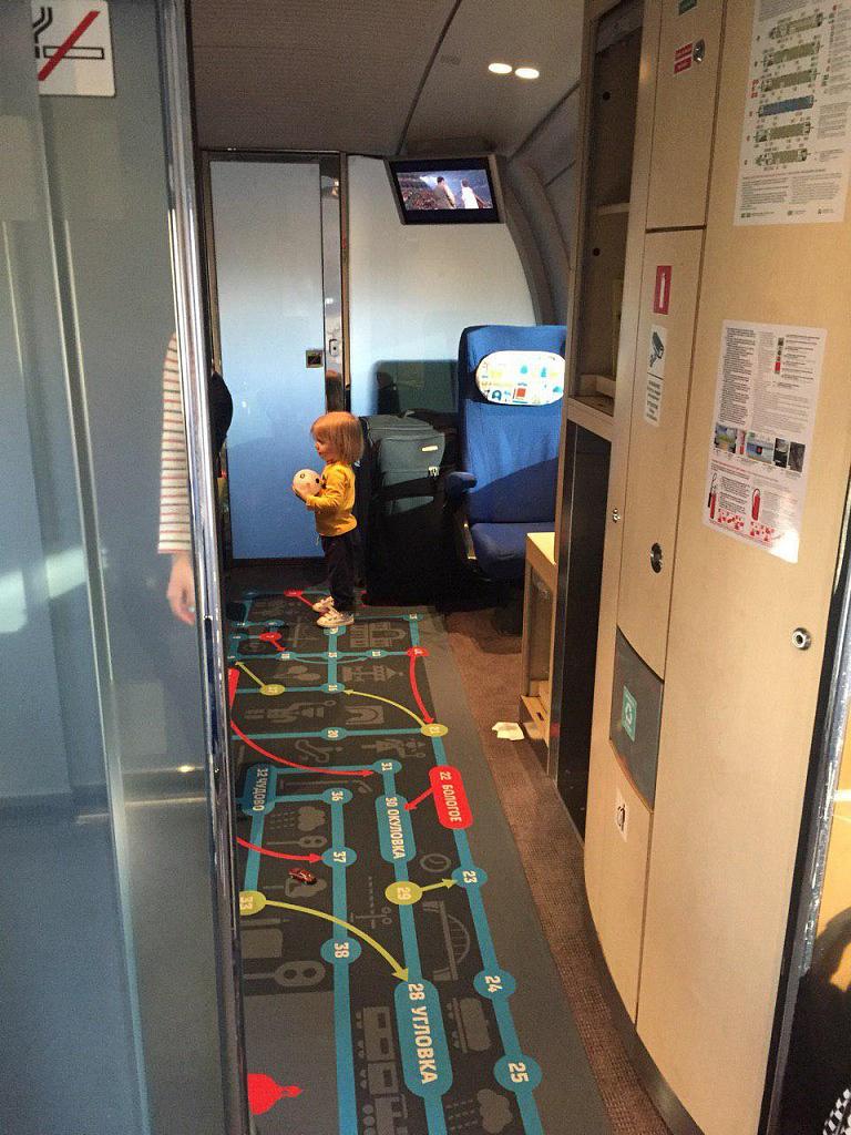 Поезд Сапсан для родителей с детьми - Батин Блог