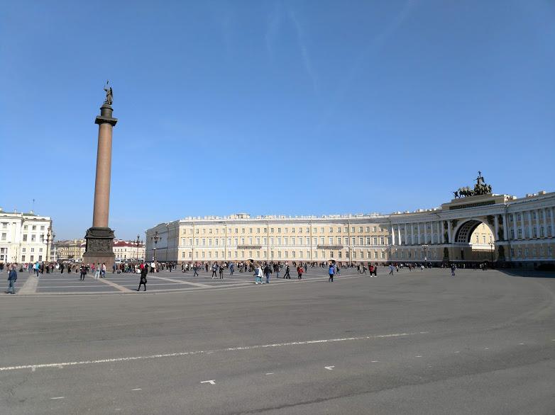 Дворцовая площадь 2019 - Батин Блог