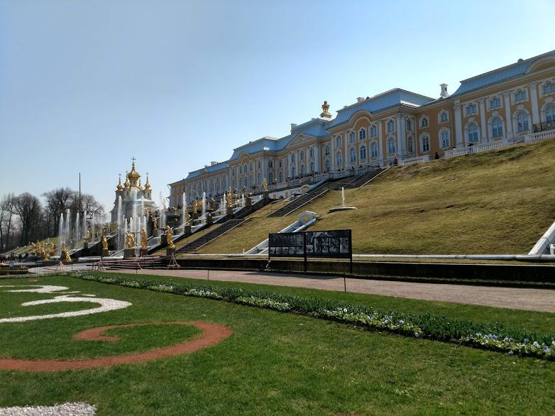 Петергоф 2019 - Батин Блог