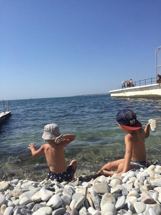 Бесплатный пляж в Геленджике - Батин Блог