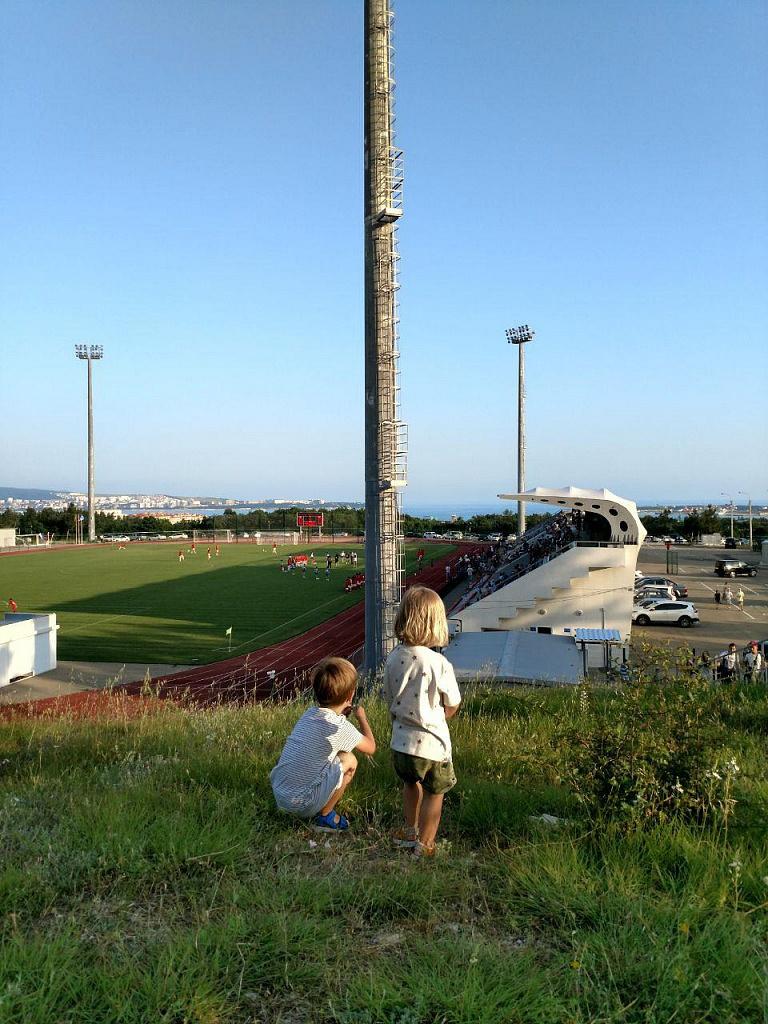 Стадион в Геленджике - Батин Блог