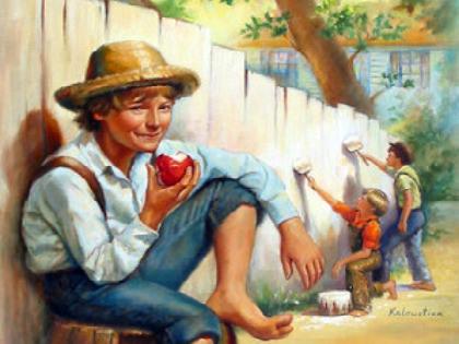 Марк Твен Приключения Тома Сойера - Батин Блог
