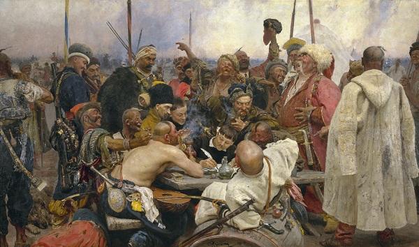 Запорожские казаки пишут письмо хану - Батин Блог