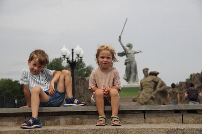 Родина мать Волгоград с детьми - Батин Блог