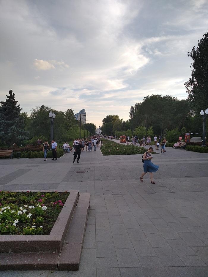 Парке Победы Волгоград - Батин Блог