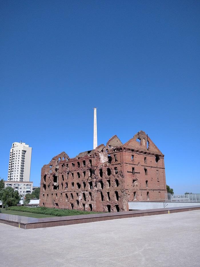 Разрушенная мельница Волгоград - Батин Блог