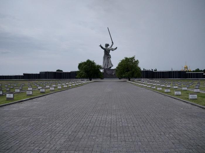 Кладбище Родина мать зовет - Батин Блог