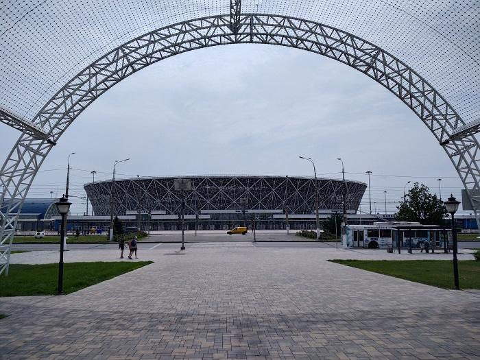 Стадион Волгоград Арена - Батин Блог