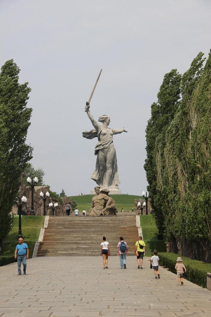Аллея тополей Волгоград - Батин Блог