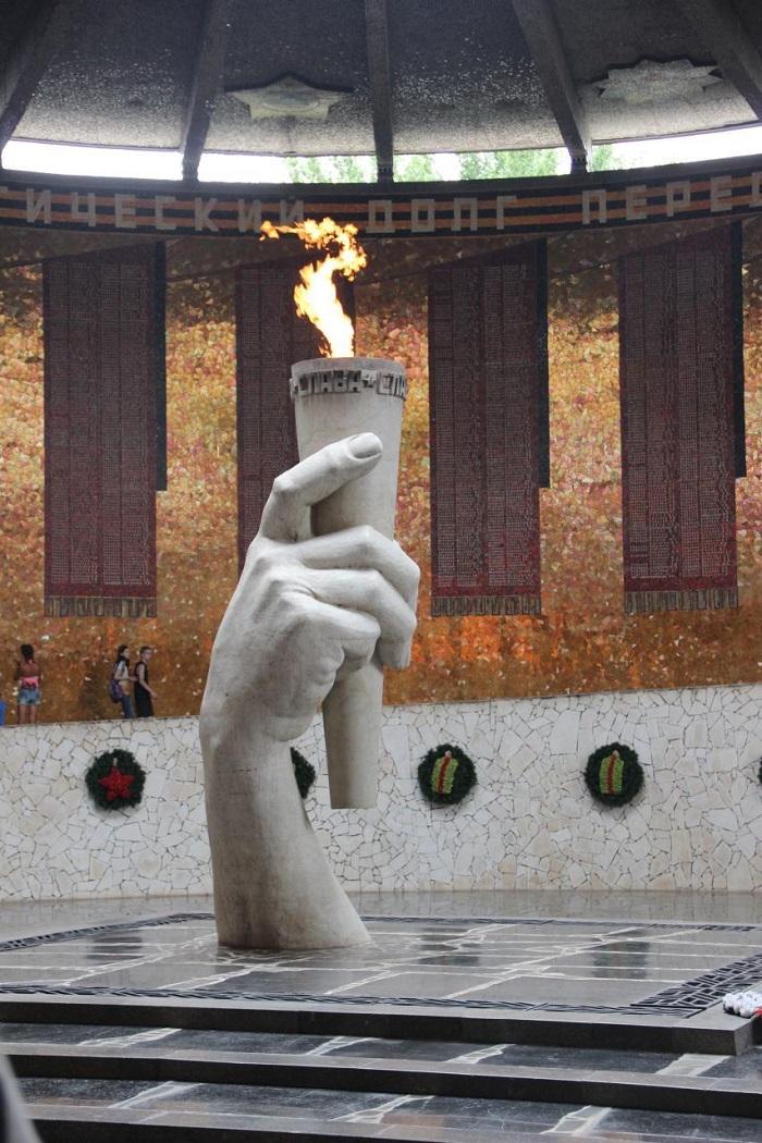 Вечный огонь Волгоград - Батин Блог
