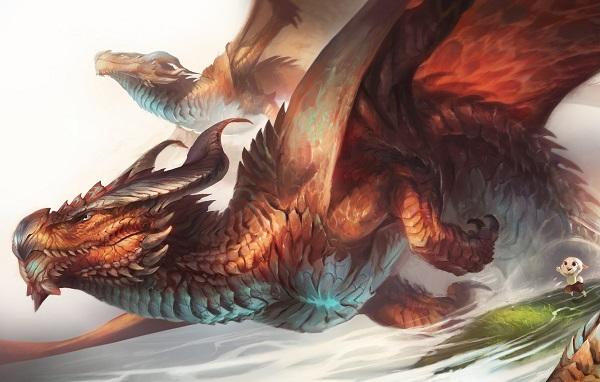 Драконы в Хрониках Нарнии