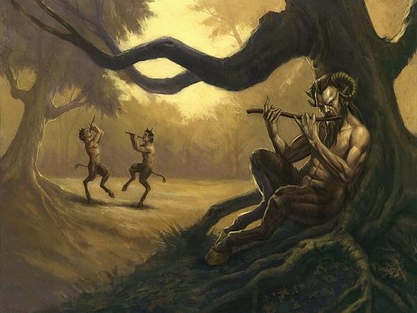Сатиры в Хрониках Нарнии